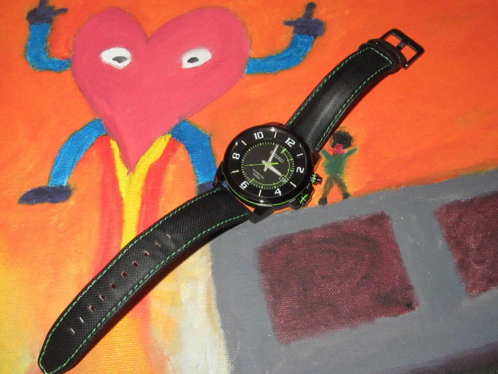 A Watch on a painting
