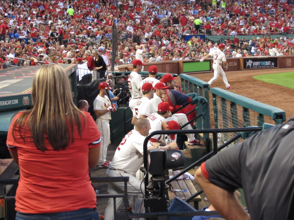 the home dugout