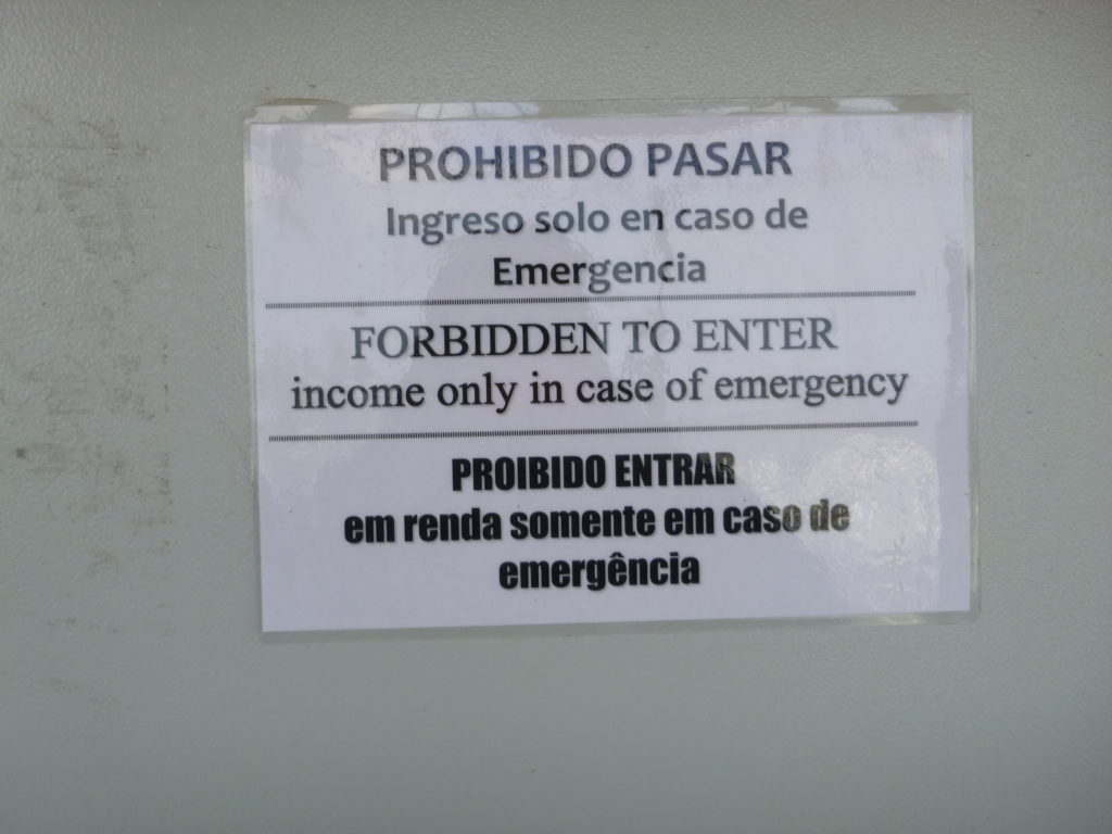 Income only in case of emergency